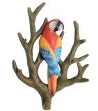 wandhaak papegaai kapstok