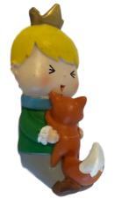 B-keus: Kinderkapstok meisje met vosje