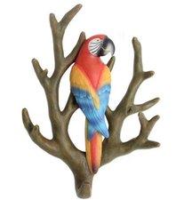 Wandhaak papegaai op tak