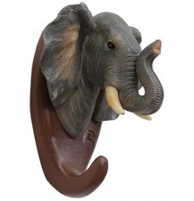 Wandhaak olifant (animal serie)