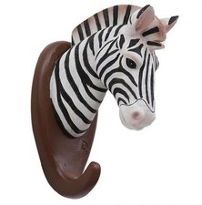 Wandhaak zebra (animal serie)