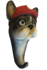 Wandhaak hond: Franse bulldog