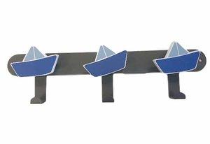Kinderkapstok zeilbootjes