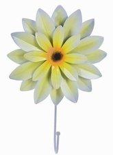 Kapstokhaak bloem Dahlia geel