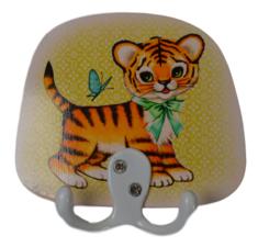Kitsch Kitchen kinderkapstok tijgertje
