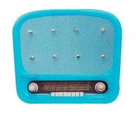 Retro radio ophangrek