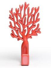 Kapstokhaak Qualy coral hook koraal rood