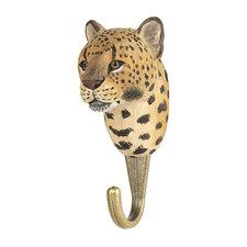 Kapstokhaakje Wildlife Garden luipaard