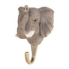 Kapstokhaakje Wildlife Garden olifant