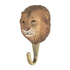 Kapstokhaakje Wildlife Garden leeuw