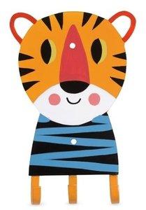 kinderkapstok tijger kitsch kitchen