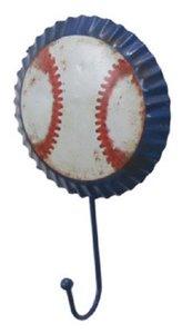 wandhaakje baseball kapstok
